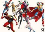 Super Sentai Super Squad OG Colors