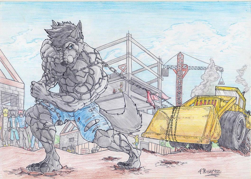 The Herculean Wolf
