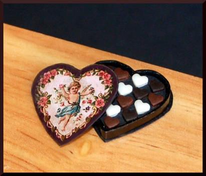 Romantic chocolates