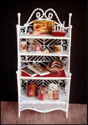 Christmas vintage cabinet