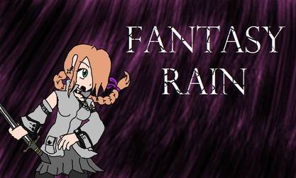 Fantasy Rain (Rain Fanart) by DaphneHughes