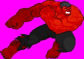 Red Hulk by cero2k
