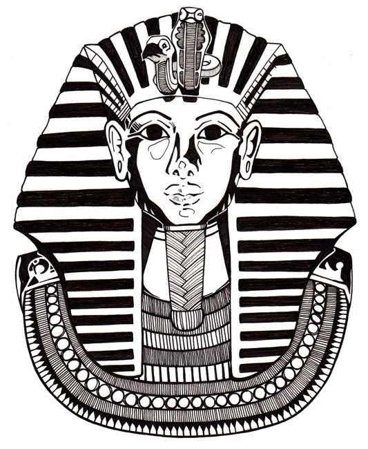 King Tut by radishninja