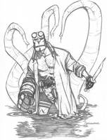 Hellboy 9-10-08 by scottygod