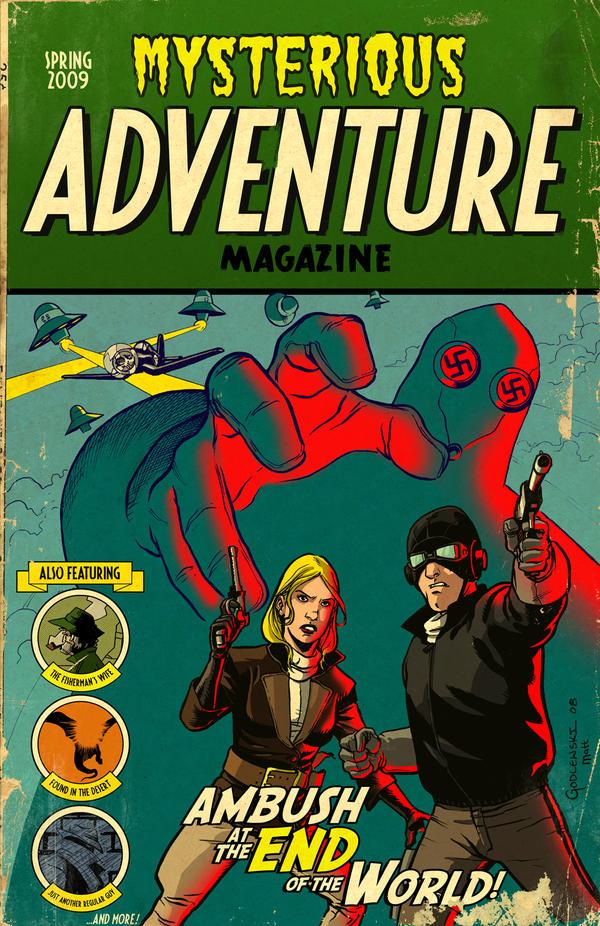 Mysterious Adventure by scottygod