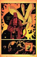 Cody Hellboy Jam by scottygod