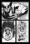 Wolverine 100 Sketches