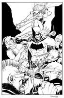 Dark Knight commission by scottygod