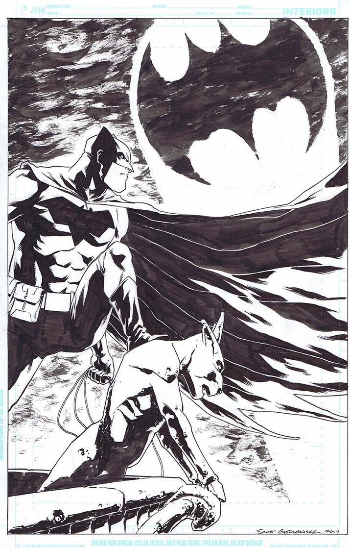 Batman commission 2017 by scottygod