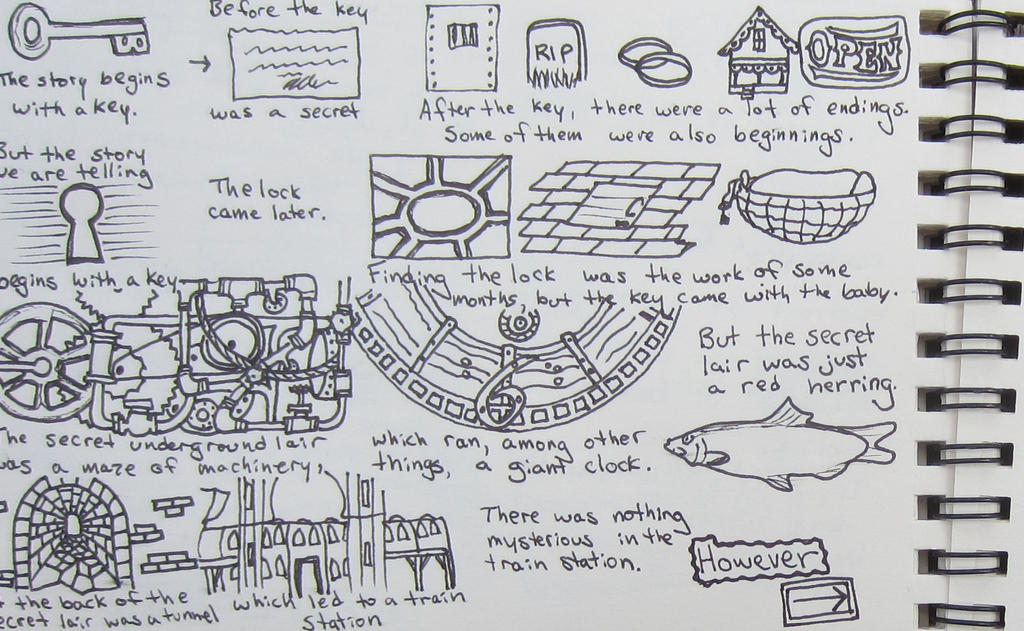 Steampunk Sketchbook Victoria Story Page 1 by starbuckwhalerider