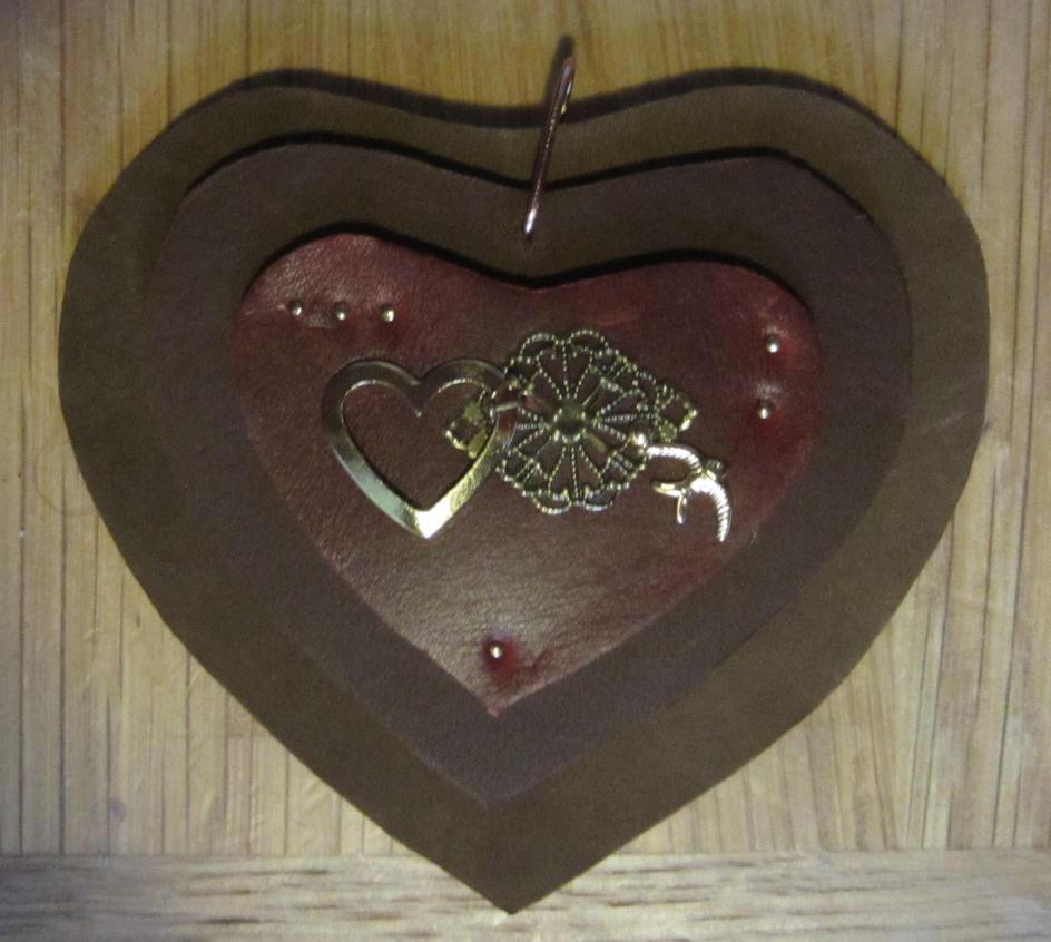Steampunk Heart Ornament by starbuckwhalerider