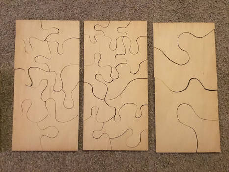 Simple jigsaw puzzles 1/8 inch ply