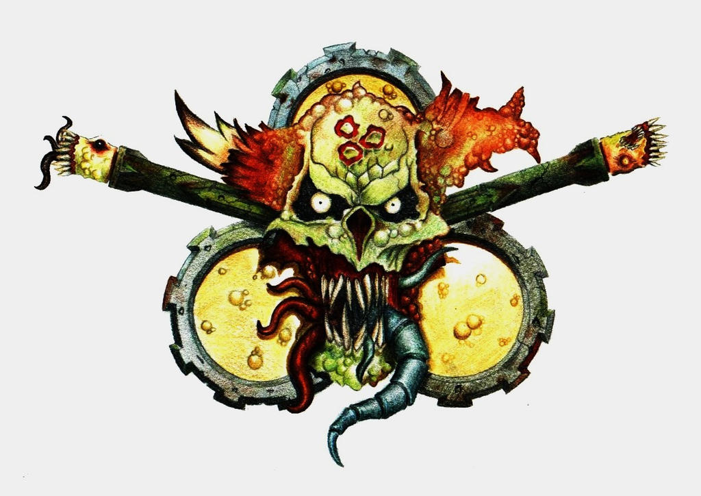 Death Guard Logo Death Guard Land Raider by