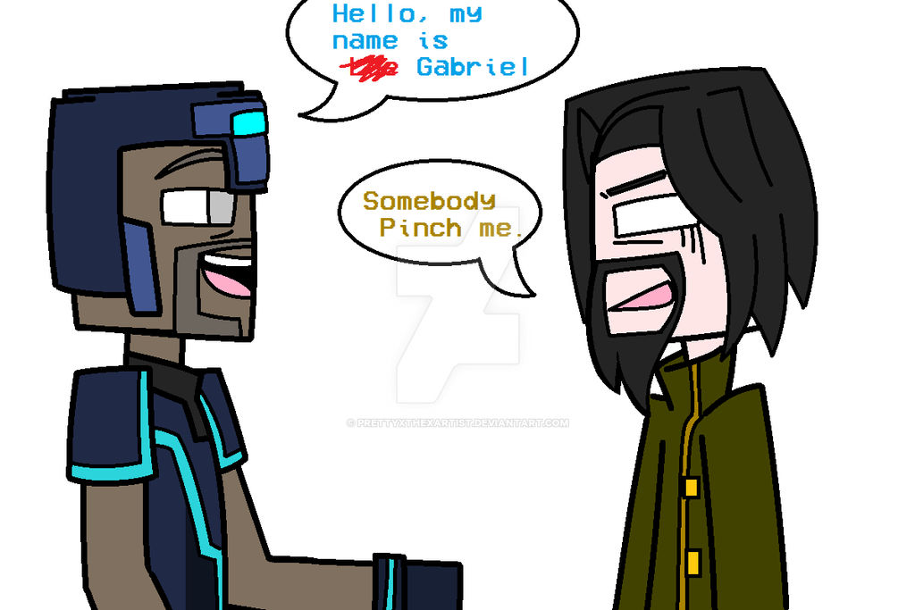 Minecraft Story Mode Somebody Pinch Me By Prettyxthexartist On