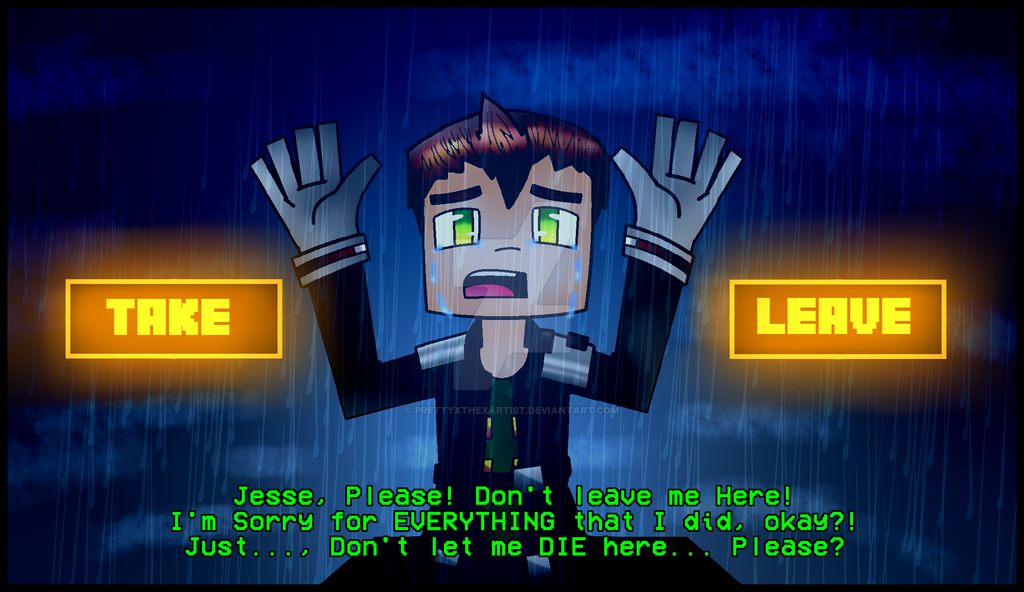 minecraft story mode take or leave spoilers by