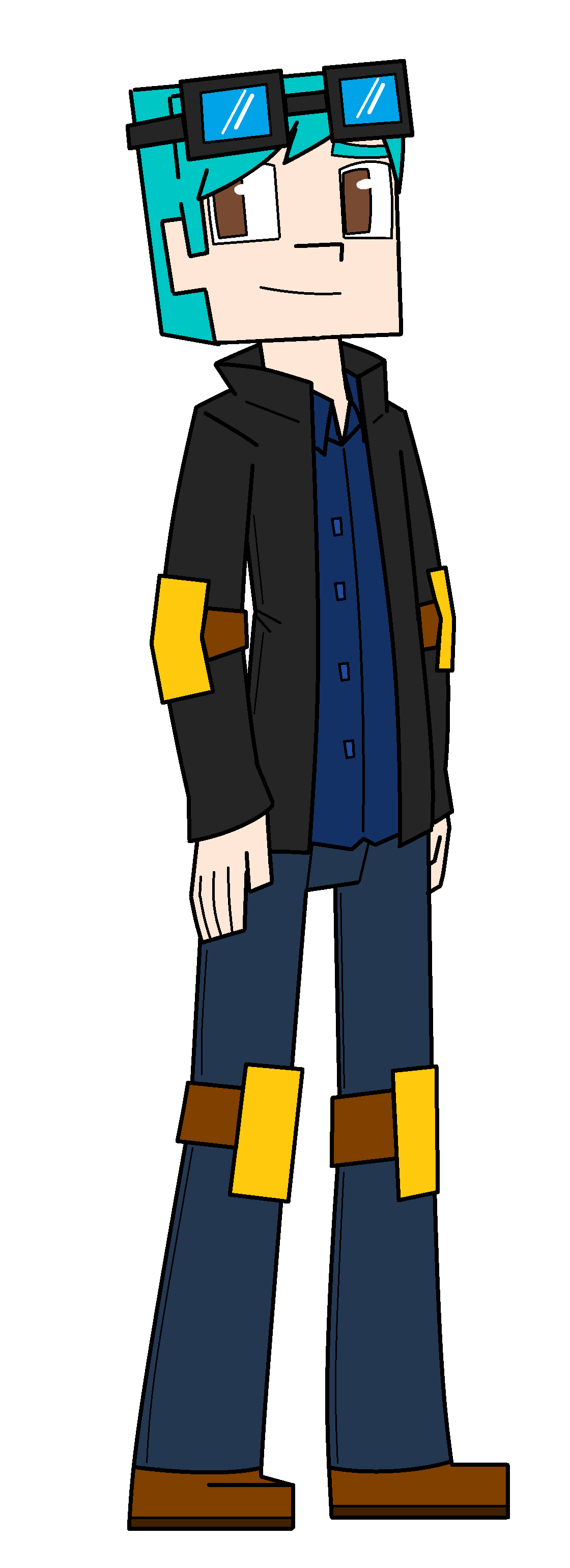 Minecraft Story Mode Dan In Episode 6 By Prettyxthexartist On