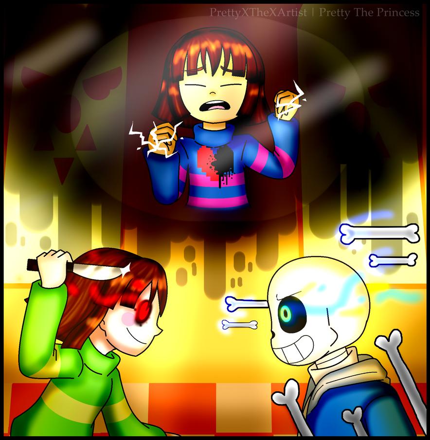 Glitchtale - Megalomaniac by PrettyXTheXArtist on DeviantArt