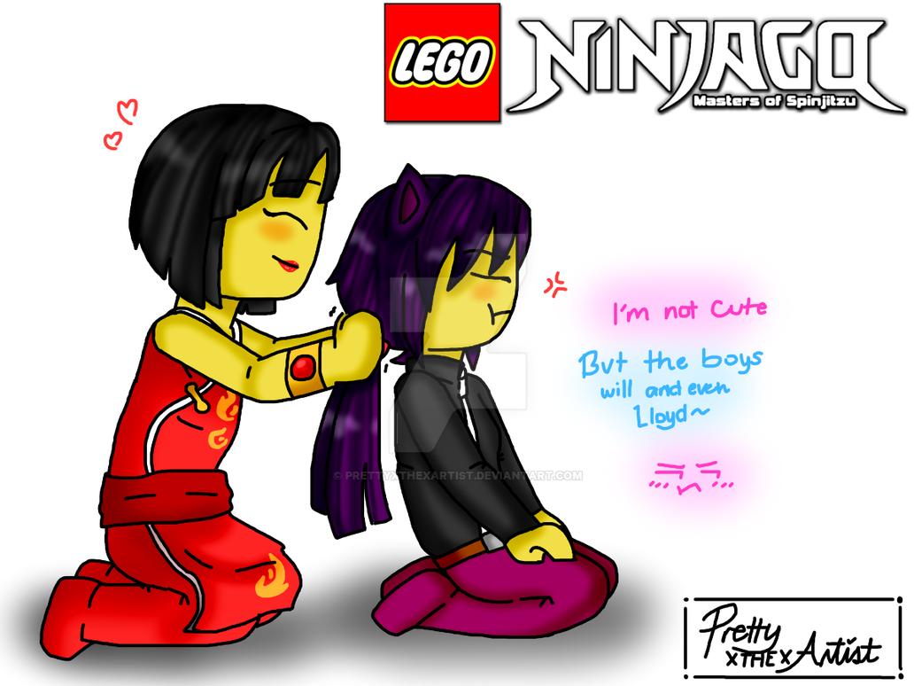 lego ninjago cute by prettyxthexartist