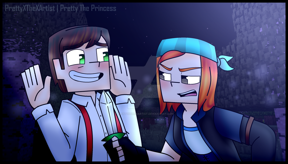 Minecraft Story Mode Jesse And Petra Cm By Prettyxthexartist