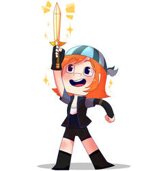Minecraft: Story Mode - Tiny Petra by PrettyXTheXArtist