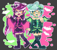 Squid Sister by Purinri