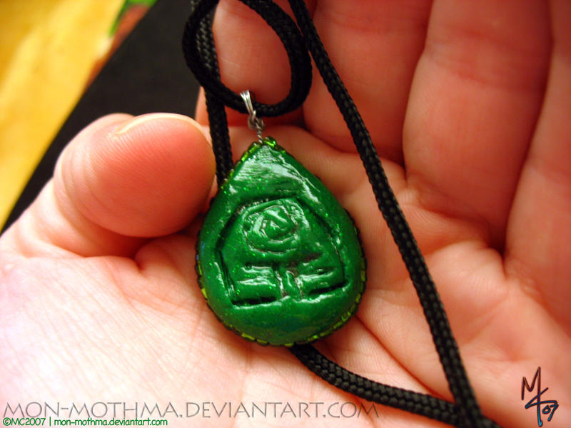 Earth Nation Pendant by mon-mothma
