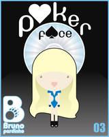Poker Face card 03 by brunopardinho