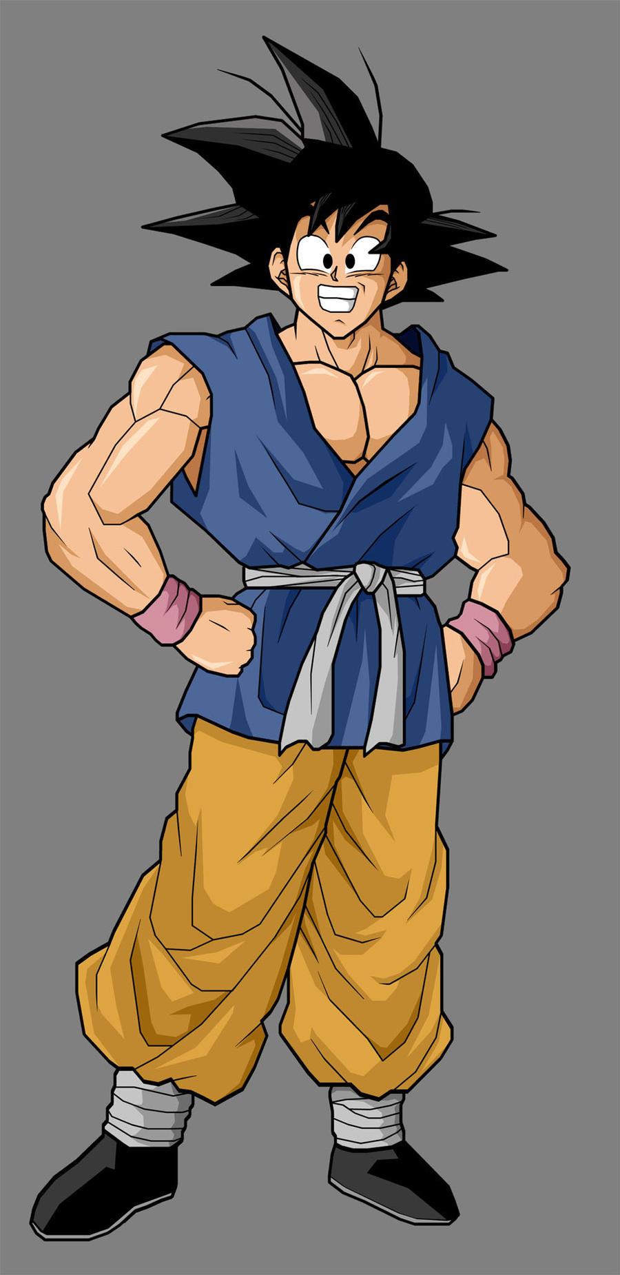 Goku GT by SilverAngels07 on DeviantArt