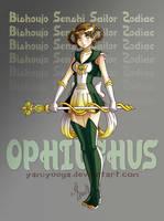 Sailor Zodiac Ophiuchus by yamiyuuga