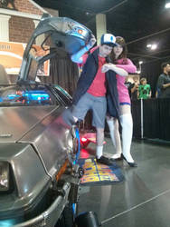 Megacon 2013 - Mabel and Dipper 2 - Time Travel by kitsune-keitaro