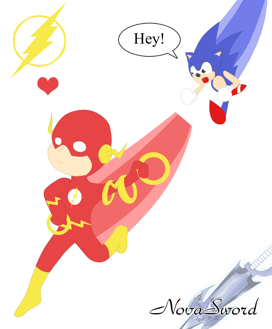 flash vs sonic - photo #27