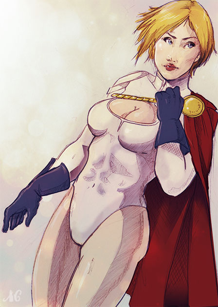 powergirl by MRedRaccoon