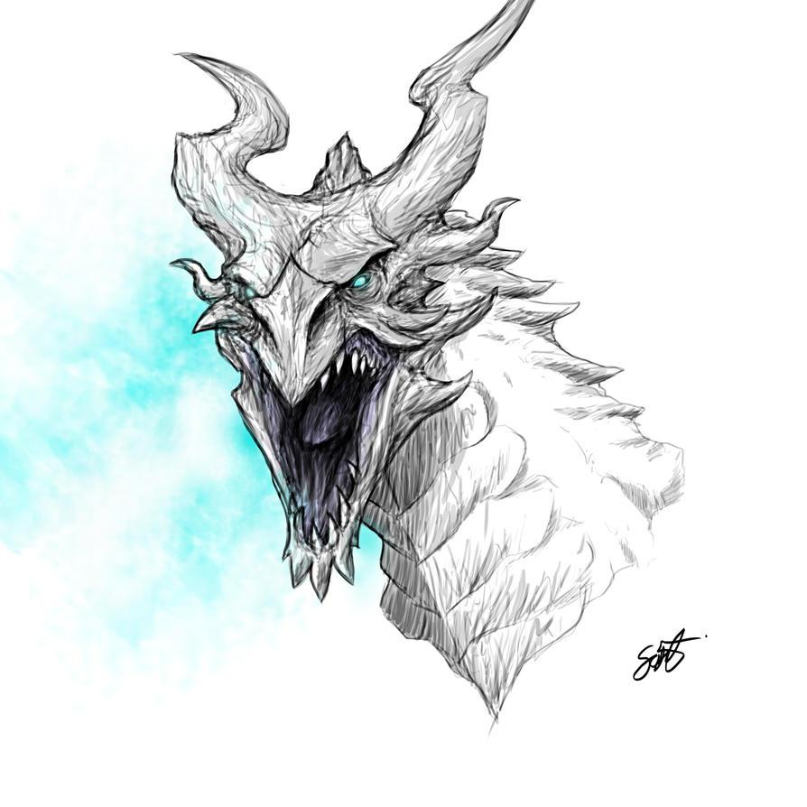 Skyrim Dragon By TheRisingSoul On DeviantArt