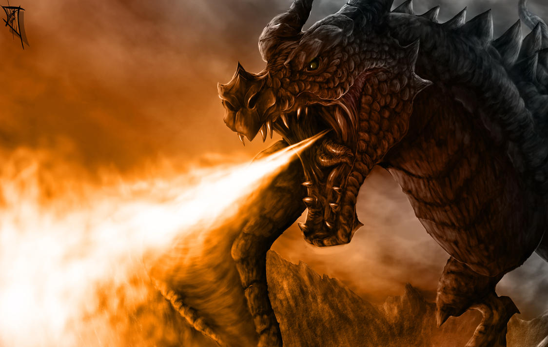 Skyrim Blood Dragon by TheRisingSoul on DeviantArt