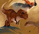Dinosaur practice