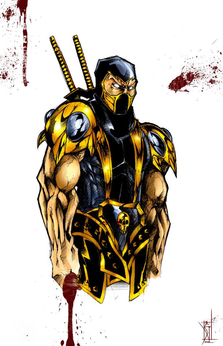 Mortal Kombat: Scorpion by TheRisingSoul on DeviantArt