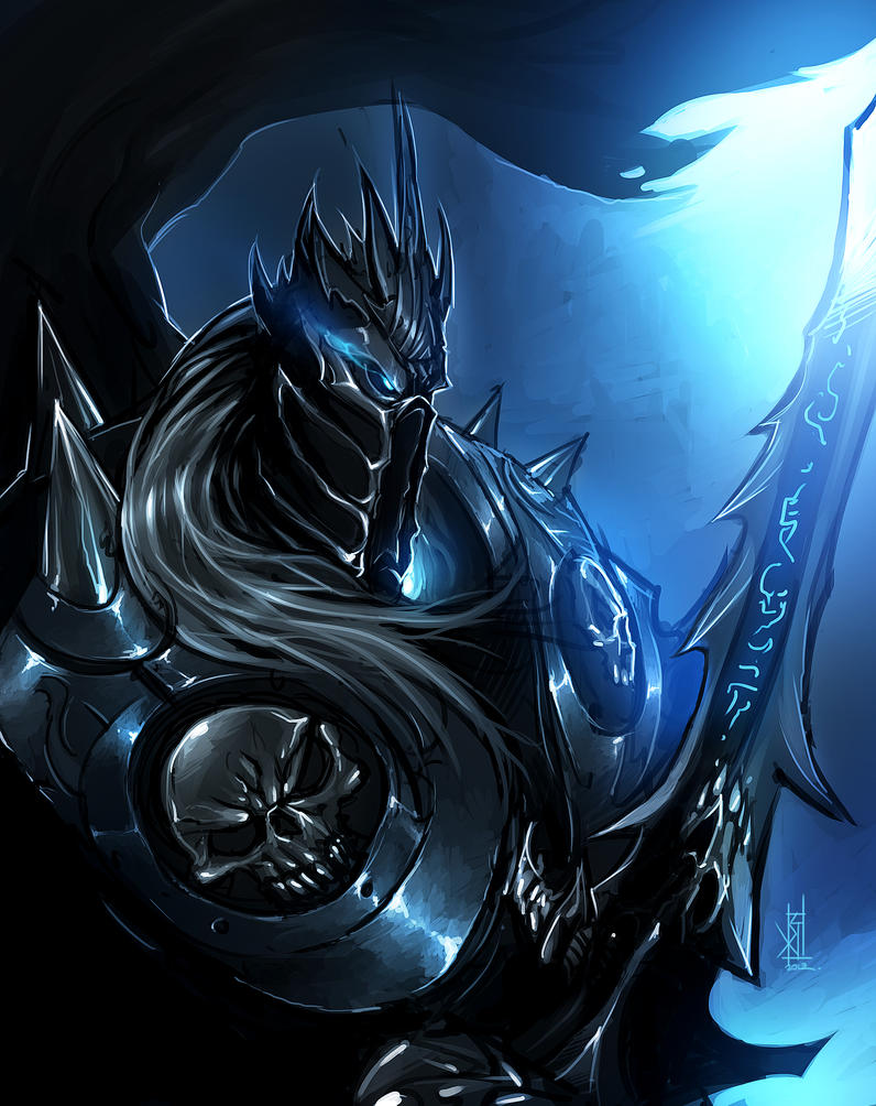The Lich King by TheRisingSoul on DeviantArt
