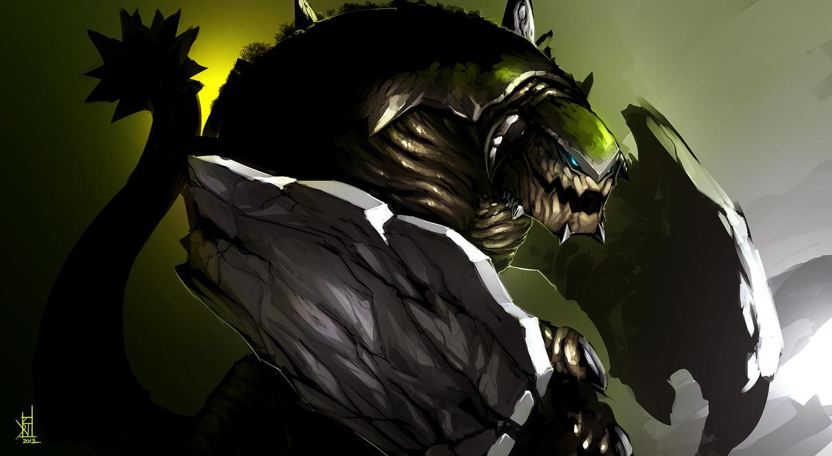 Tursacra - Kaiju Combat by TheRisingSoul