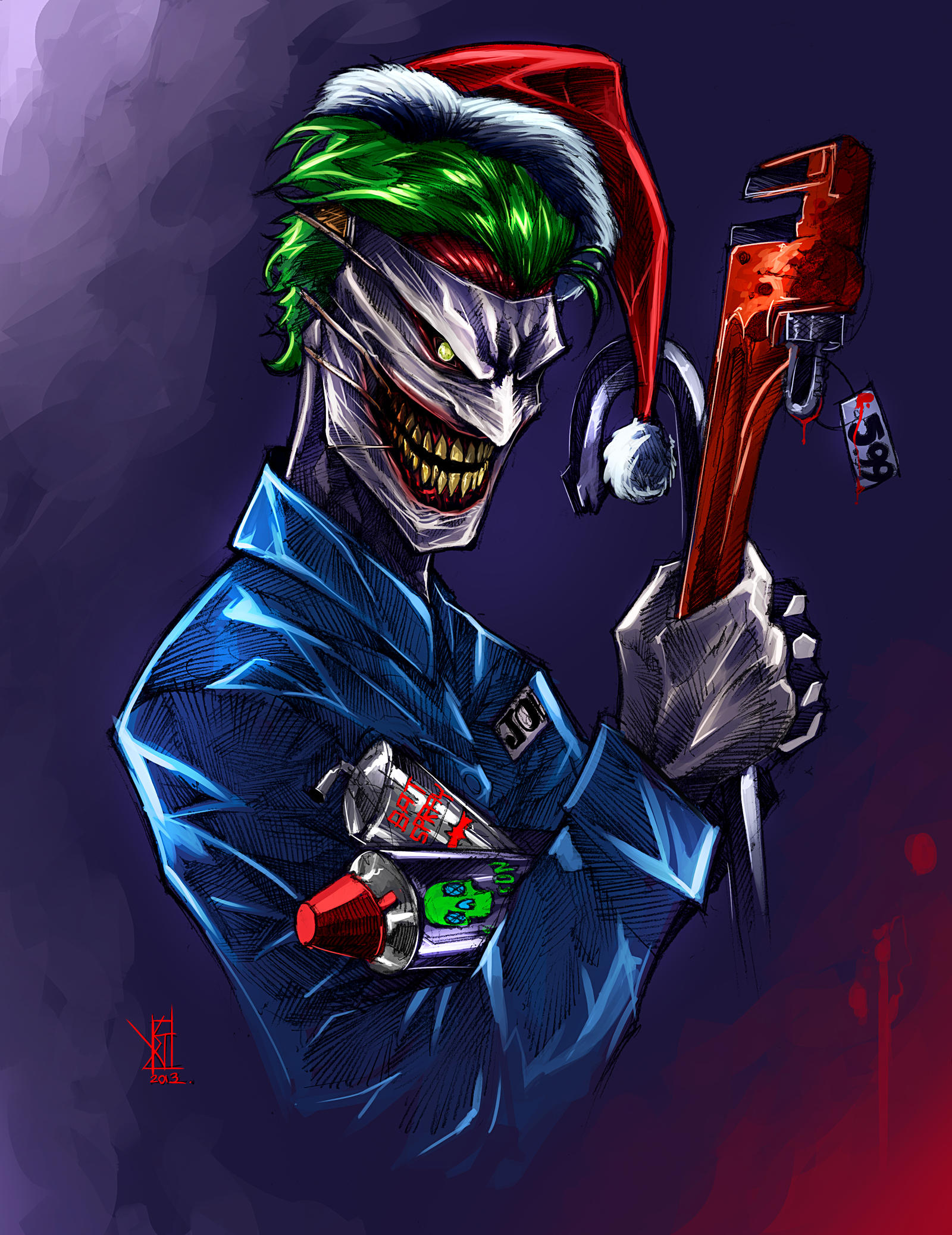 Joker 52 by TheRisingSoul on DeviantArtNew 52 Joker Wallpaper