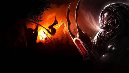 Predator Invasion by TheRisingSoul