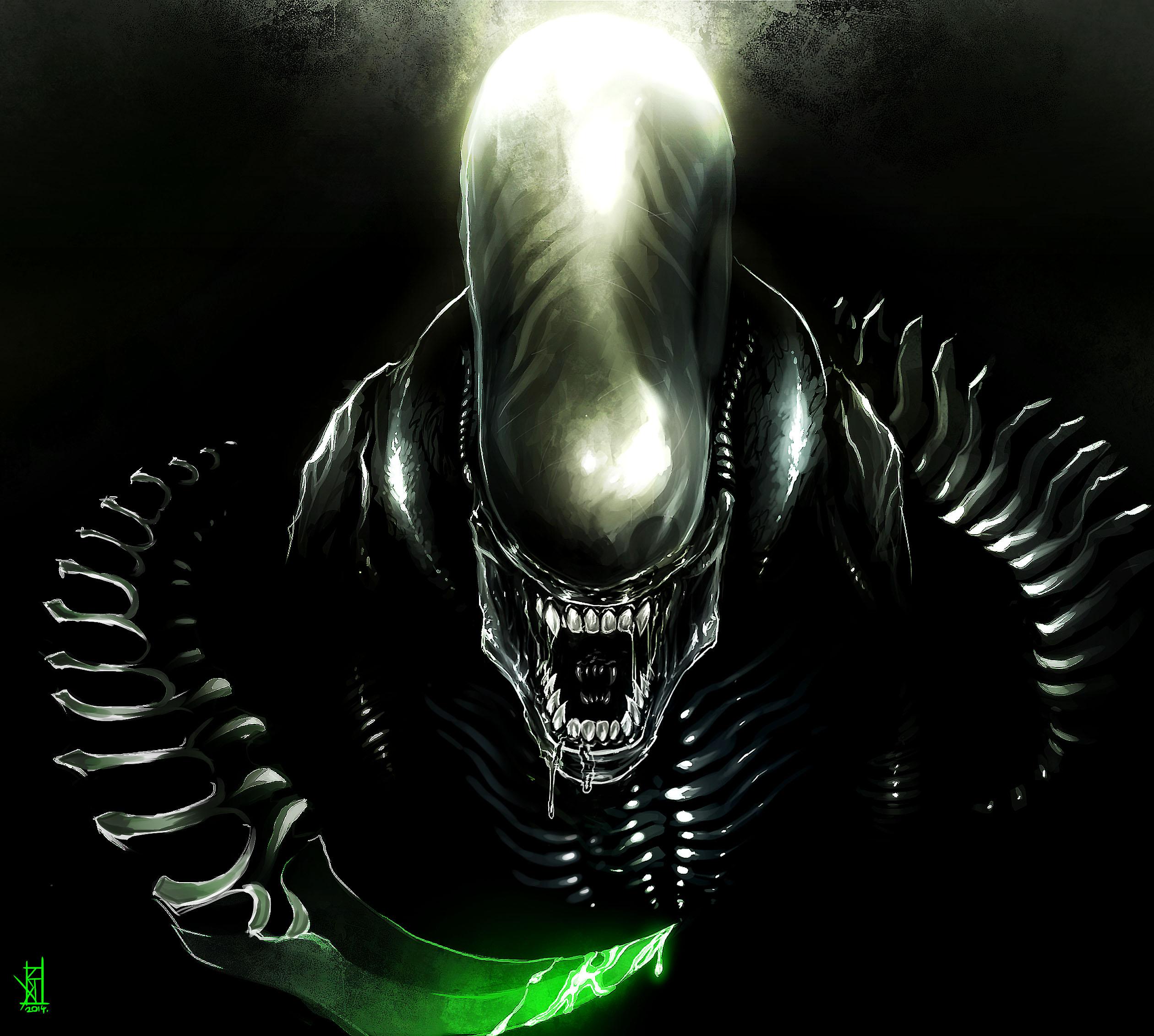 xenomorph by therisingsoul on deviantart