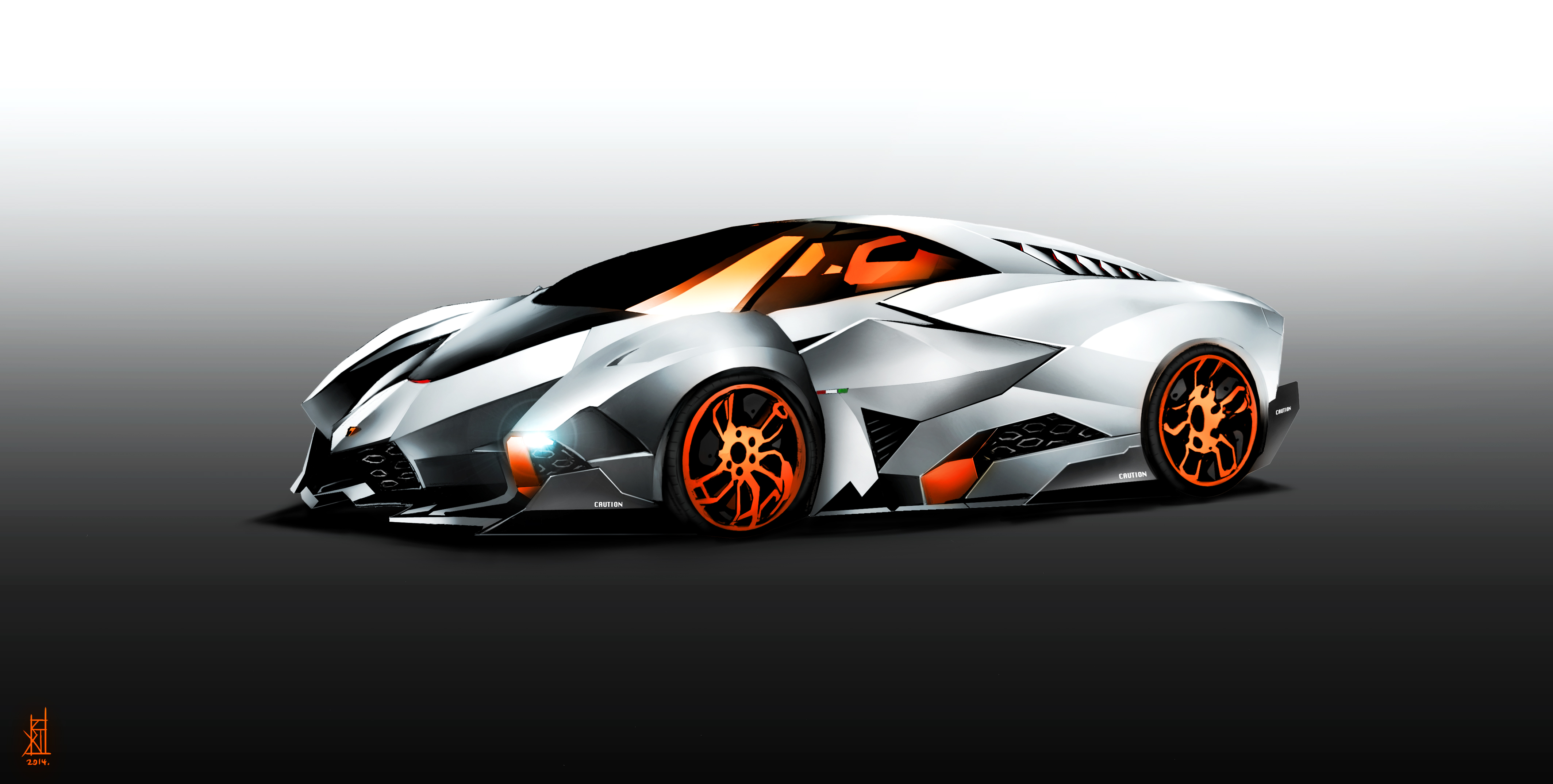 OinkTweetStudios 47 5 Lamborghini Egoista By TheRisingSoul