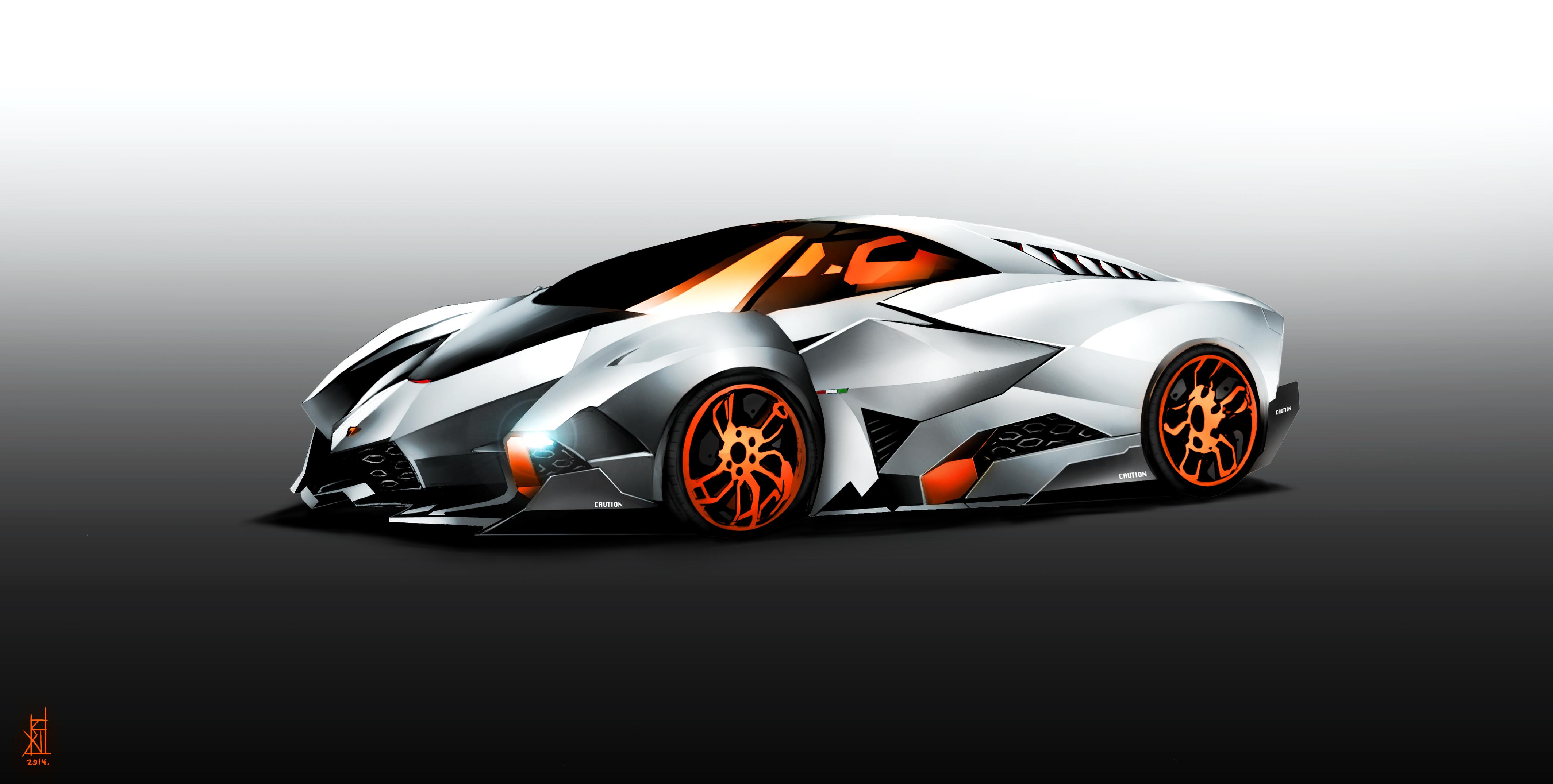 Lamborghini Egoista By Therisingsoul On Deviantart
