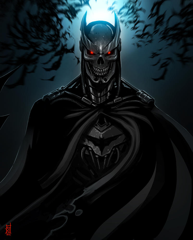 Batman Terminator by TheRisingSoul