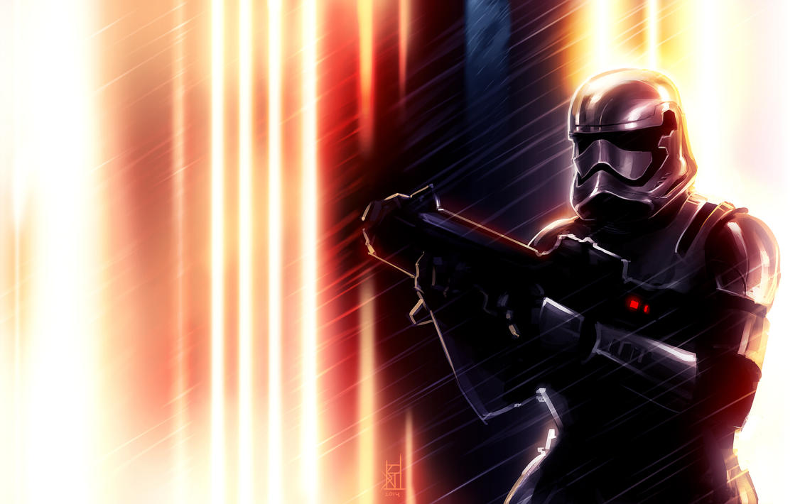 Storm Trooper Episode VII by TheRisingSoul