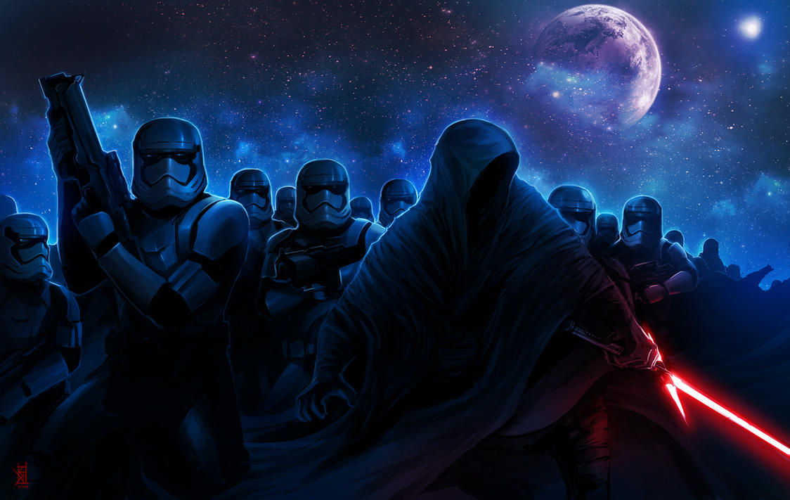 Star Wars VII by TheRisingSoul