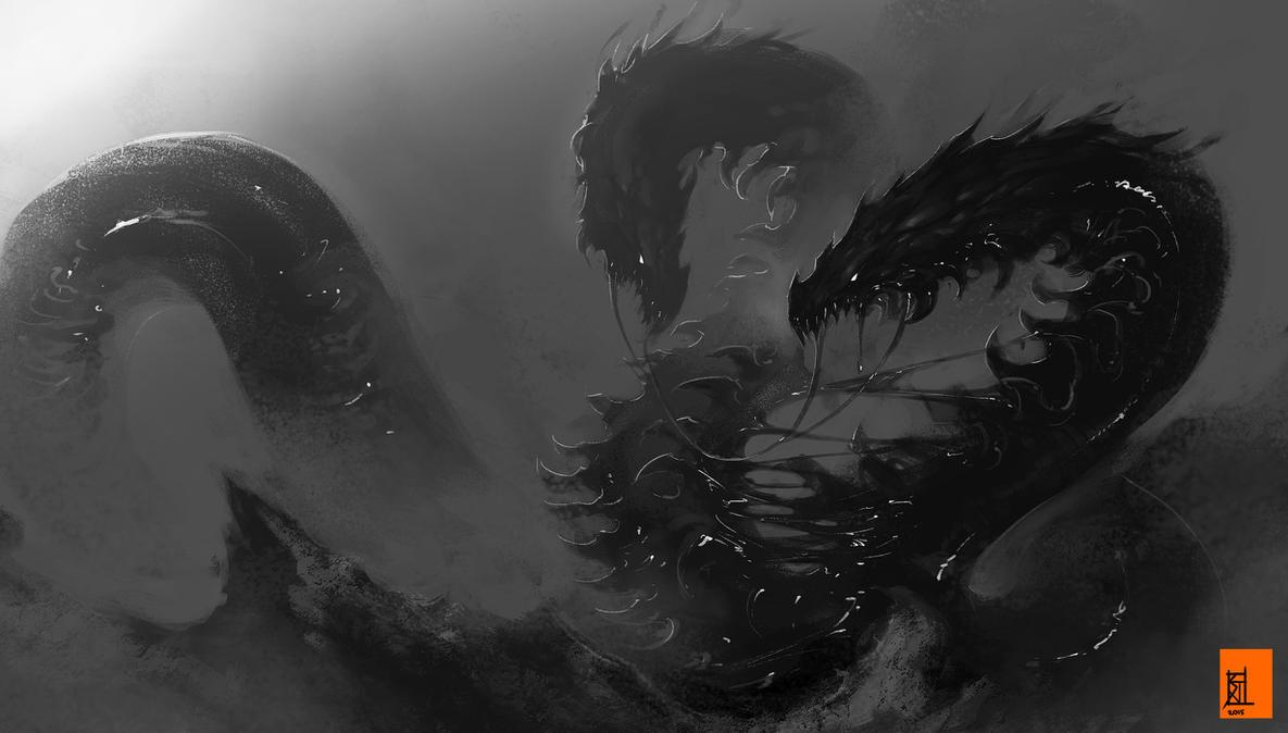 Zipper dragon by TheRisingSoul