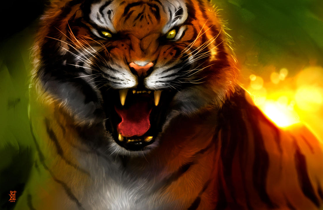 Bengal Tiger by TheRisingSoul