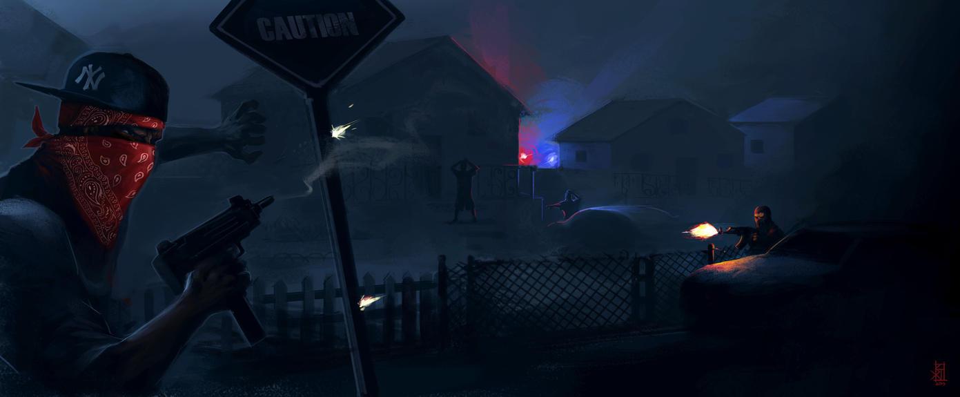 Rough Neighborhood by TheRisingSoul