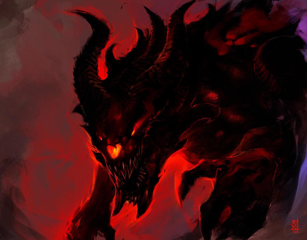 Demon Kaiju by TheRisingSoul